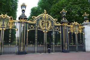 Canada Gate Outside Buckingham Palace