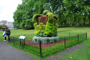 Floral Crown in St. James Park