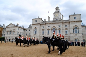 Changing of the Horse Guard