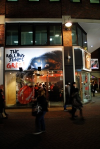 Carnaby St Rolling Stones Store
