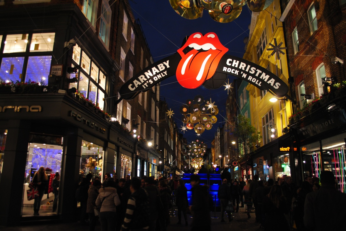 Carnaby Street Christmas The Power Of Travel