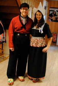 Traditional Clothing of Volendam