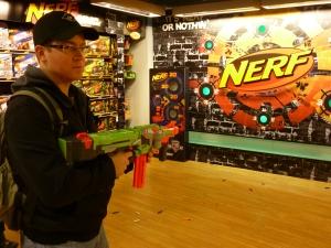 Nerf Shooting Range