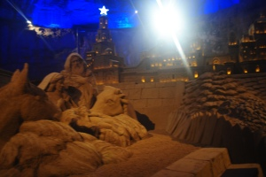 Nativity Scene in Wilhelmina Cave Valkenburg