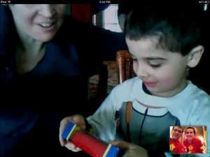 Christmas Skype Call