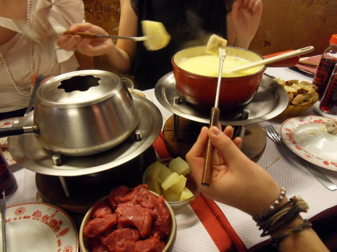 Fondue in Paris