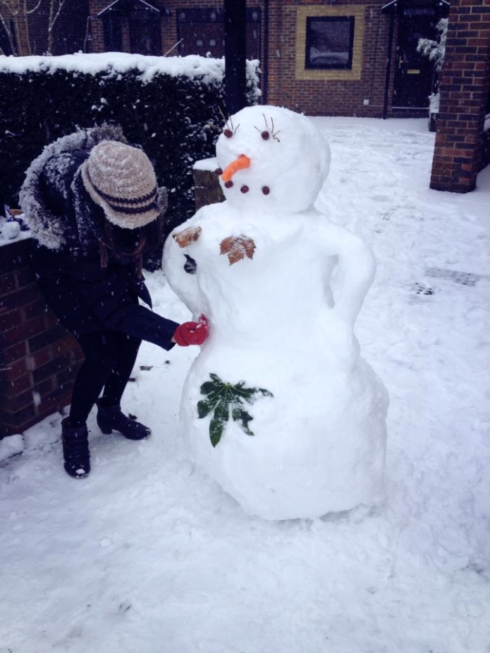 Snowoman_london