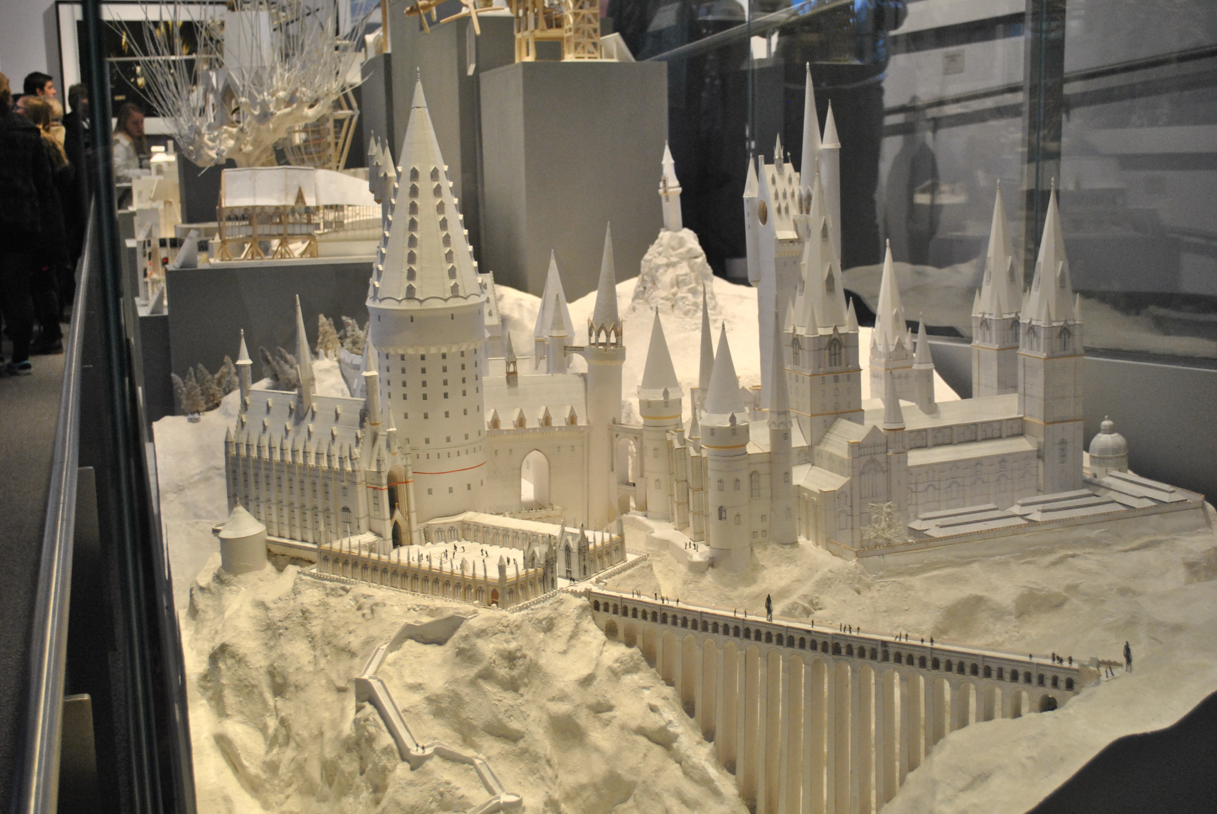 The making of harry potter the power of travel near the end harry potter paper model sets malvernweather Image collections