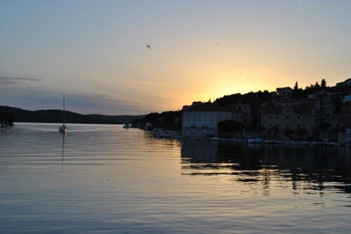 Milna Croatia Sunset