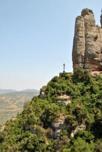 View of rosary Montserrat