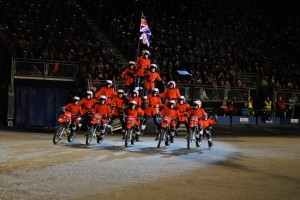The Royal Edinburgh Military Tattoo 2013 Motorcyclists