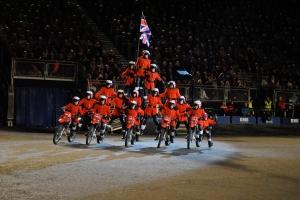 The Royal Edinburgh Military Tattoo 2013 Motorcyclists